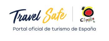 Travel Safe - Logo del Portal oficial de turismo de España
